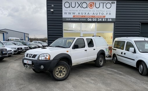 navara pick up 2.5 133ch  voiture occasion nissan