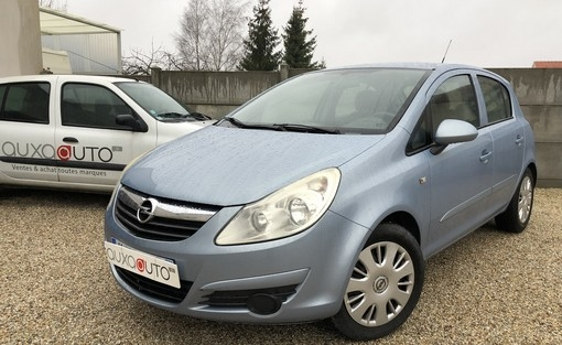 corsa  1.0 d voiture occasion opel