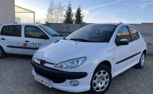 206 1.4 hdi  voiture occasion peugeot