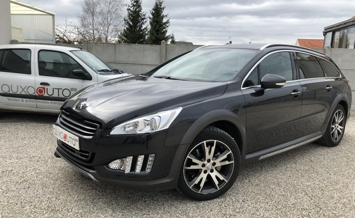 508 rxh hybride 163 ch + 37 ch electric voiture occasion peugeot