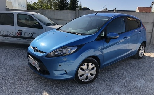 fiesta 1.6 tdci 90 econotic voiture occasion ford