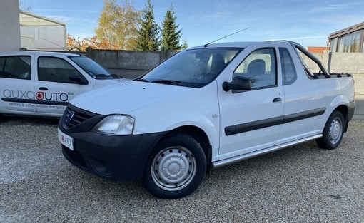logan 1.5 dci 70 pick up voiture occasion dacia