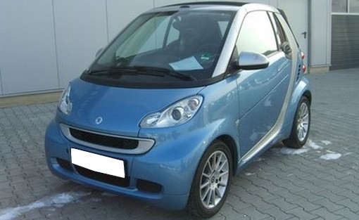smart fortwo passion  voiture occasion smart